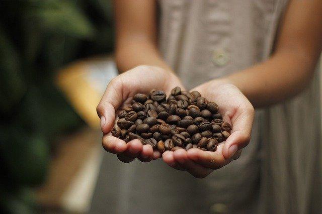 kaffee, kaffeebohnen, duft