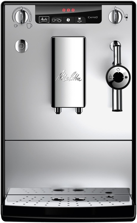 Melitta Caffeo Solo & Perfect Milk E957-103 Kaffeevollautomat silber