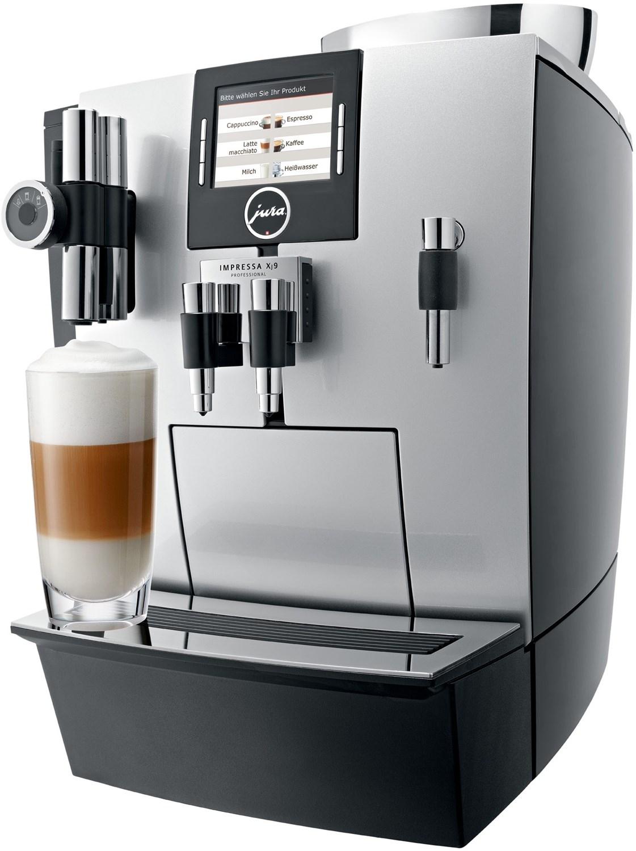JURA Impressa XJ9 Professional Kaffeevollautomat Brillantsilber BWare wie neu